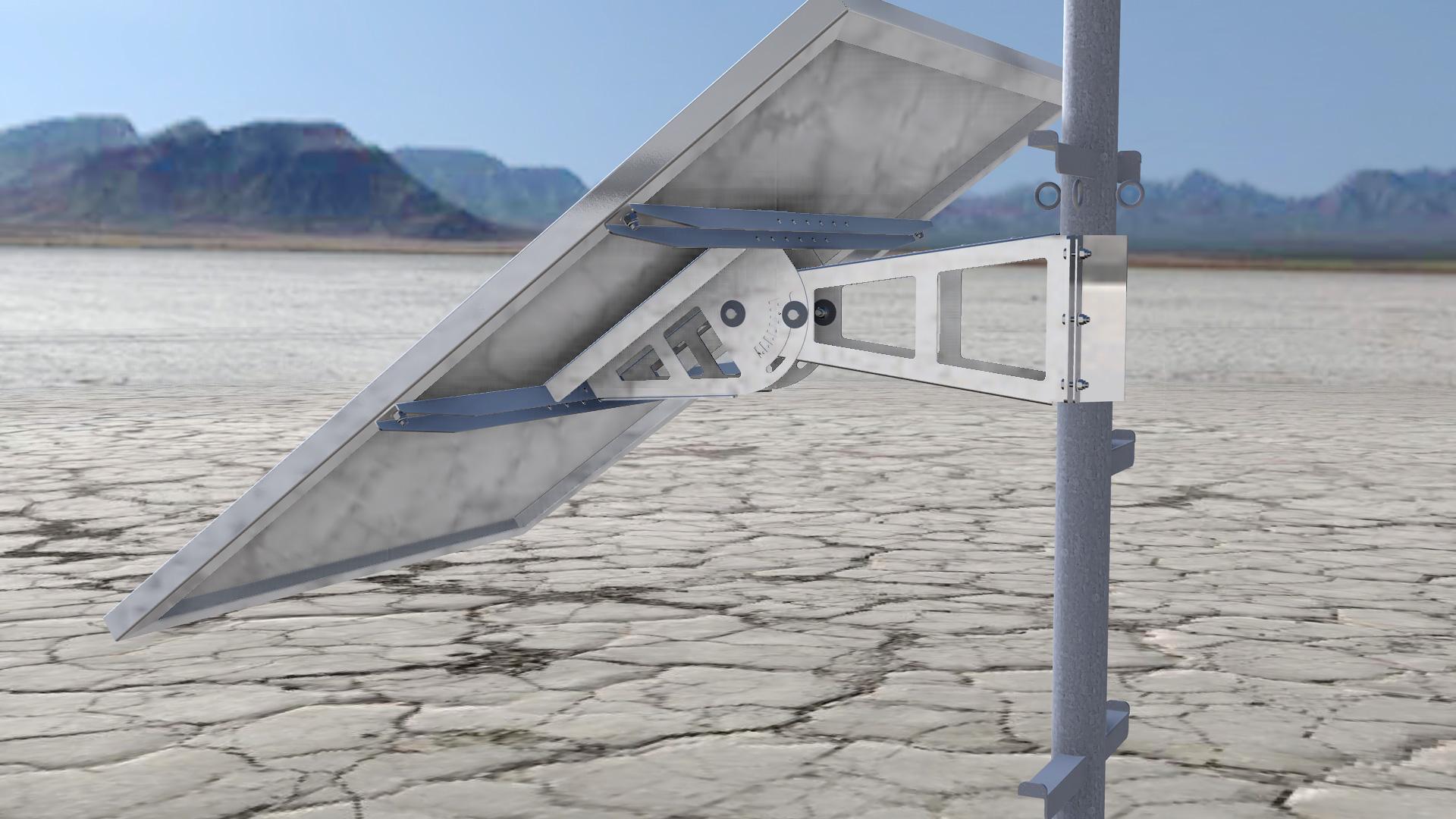 Palo Luce Con Pannello Solare : Cosmew costruzioni metalliche weber